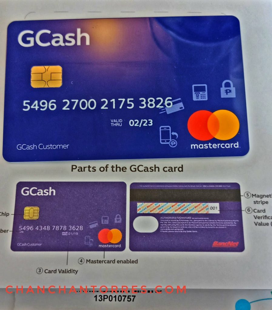 Gcash Mastercard Card Number | Wallpaperletter co